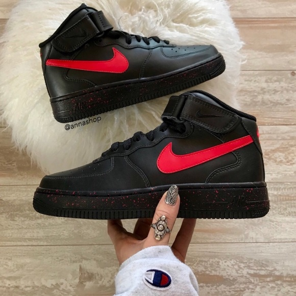 e1dae66ecb0c NWT Nike ID Custom Air Force 1 Oreo